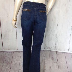 Simply Vera Vera Wang Straight Size 10 Jeans
